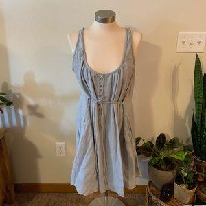 version sud Dresses - Linen like tank dress